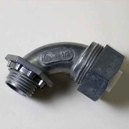 "WATER TIGHT ELECTRICAL CONNECTOR 1/2"" ELBOW"