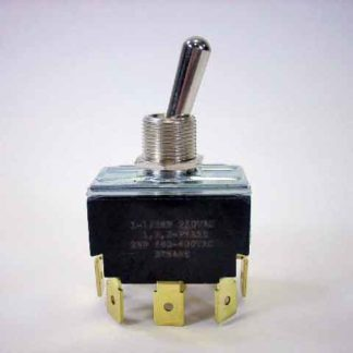 TOGGLE 3PDT SPADE TERMINAL ON-OFF-ON