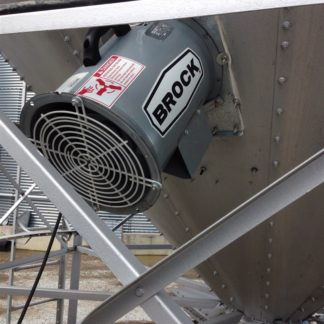 "12"" FARM FAN FOR HOPPER AERATION 220V"