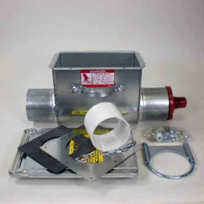 MODEL 108 LOWER BOOT ASSEMBLY 30 DEGREE ASSEMBLY
