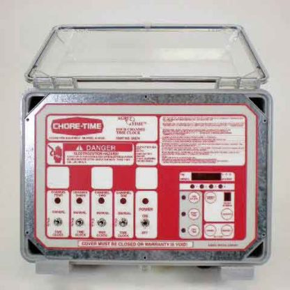 4-CHANNEL TIME CLOCK ASSEMBLY<br>FOR USE WITH 28990-9 & 28990-18<br>