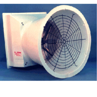 "36"" DIRECT DRIVE TURBO FAN 1PH 60HZ WHITE CONE & SHUTTER"