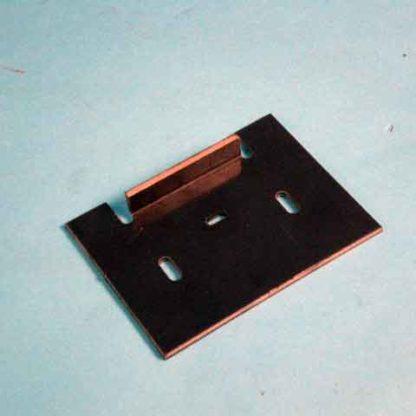 "PLASTIC SNUB ROLLER SCRAPER 4.05"" X 3"""