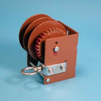 SPLIT DRUM WORM GEAR LOOP DRIVE WINCH 1500 LBS. CAPACITY