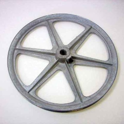 "11"" OD ZINC DIECAST PULLEY 5/8"" BORE"