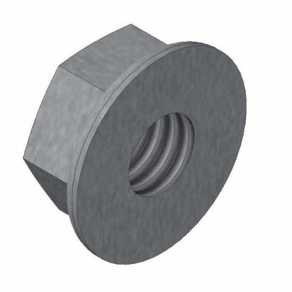 5/16-18 STAINLESS STEEL HEX FLANGE NUT<br>
