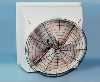 "36"" CHORE-TIME TURBO GRILL FAN BLACK INSIDE 1/2HP 1PH-60HZ-208/230V"