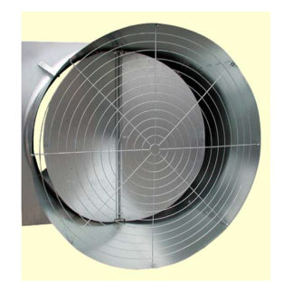 "48"" CHORE-TIME BELT DRIVE GALVANIZED CONE FAN 1PH-60HZ HI-EFFICIENCY"