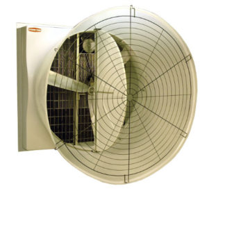 "52"" BELT DRIVE TURBO (R) FAN 1PH-60HZ HYFLO HI-CFM WHITE W/ WHITE CONE<br>"