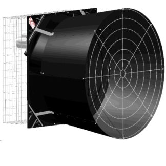"57"" ENDURA FAN 1.5HP 1-60-230 UNASSEMBLED ENERGY EFFICIENT<br>"