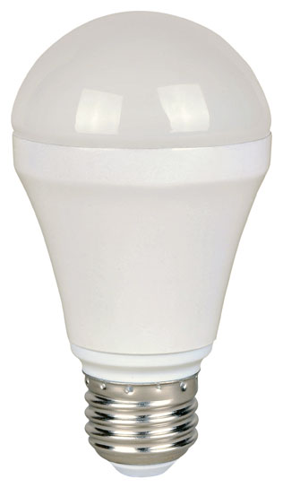 LED LIGHT BULB 3,000KELVIN 6 WATT DIMMABLE 520 LUMENS