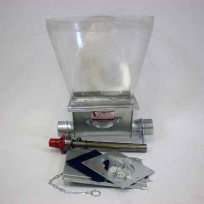 CHORE-TIME MODEL 75 STRAIGHT OUT BOOT ASSEMBLY INCLUDING CLEAR PLASTIC TRANSITION<br>