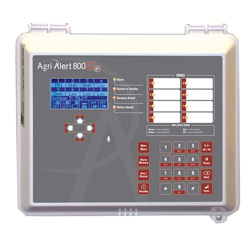 AGRI-ALERT 800EZE ALARM 8-ZONE WITH OUTDOOR CARD<br>