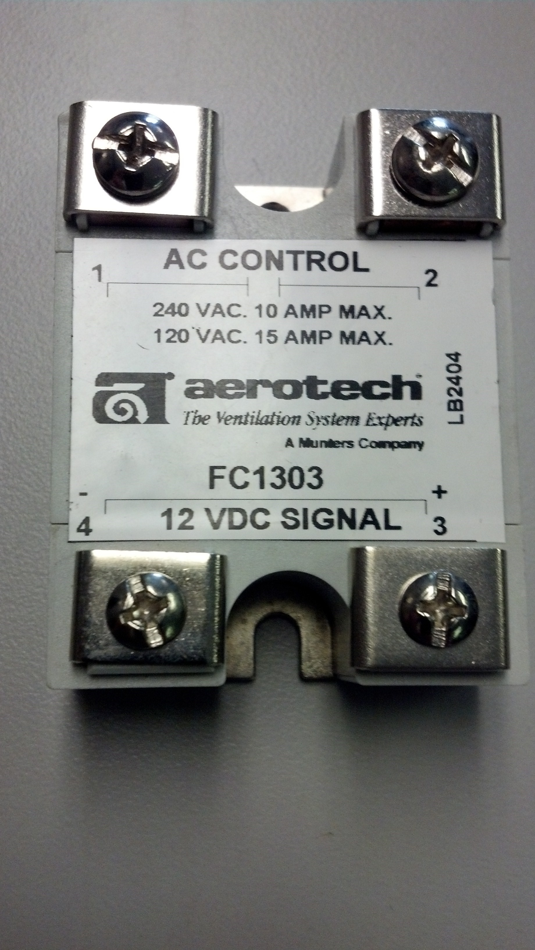 Solid State Relay 10a 240vac 15a 120vac 12vdc Coil Northeast 240v Ac