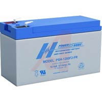 SEALED LEAD ACID BATTERY 12V 8.5 AMP HOUR .25 TERMINAL