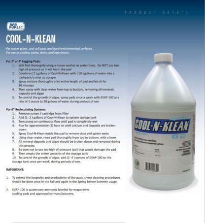 COOL-N-KLEAN PAD CLEANER 1 GAL