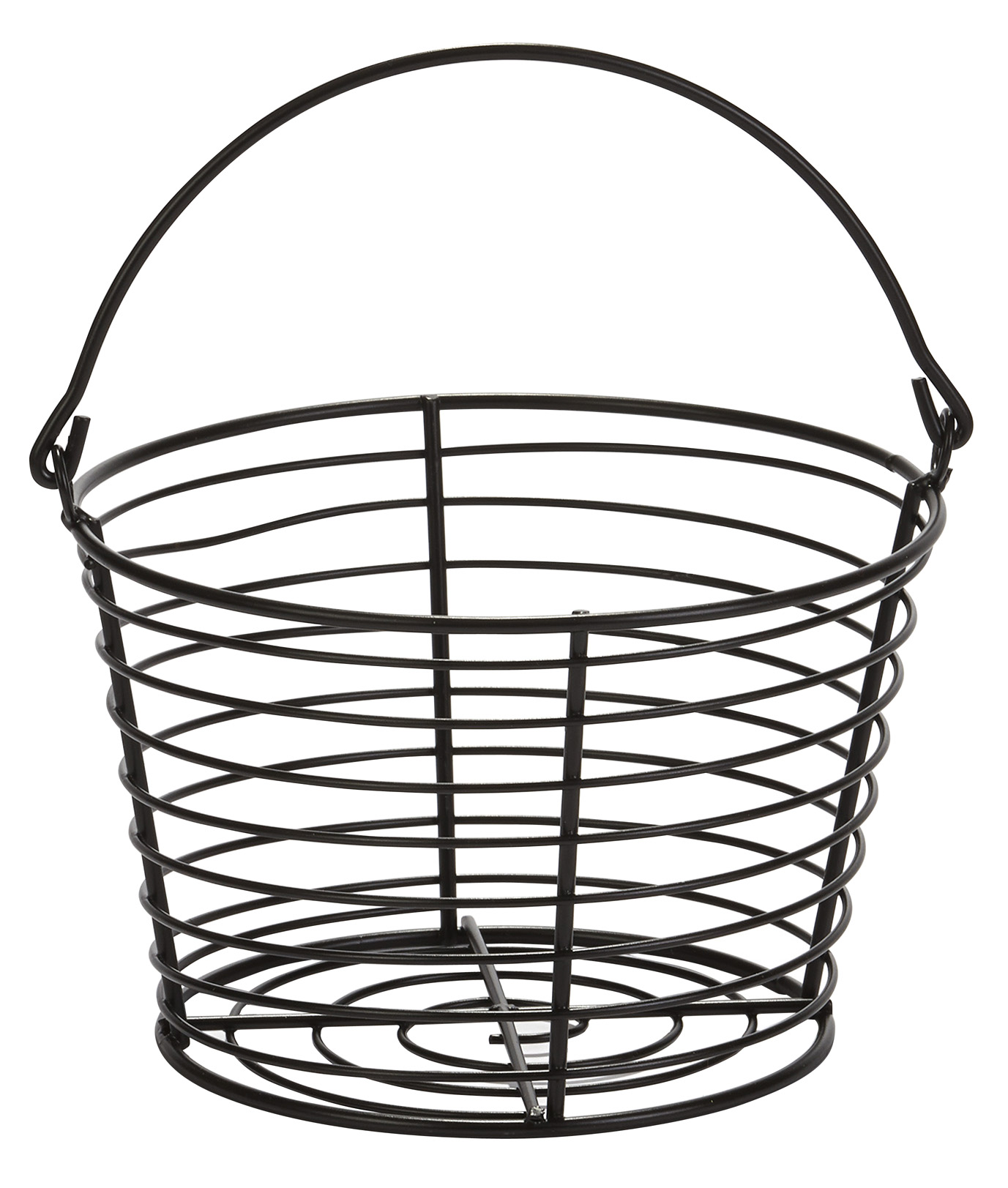 EGG BASKET SMALL PLASTIC COATED WIRE 8\