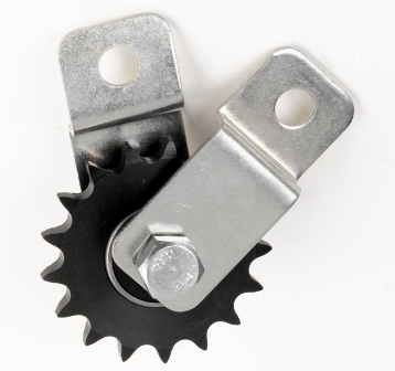 CHAIN SPROCKET PULLEY ASSEMBLY # 40 CHAIN SPROCKET