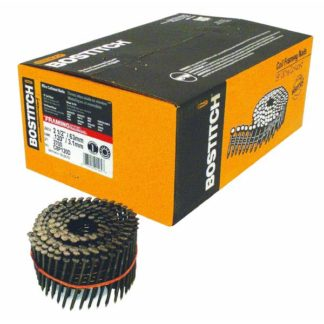 COIL NAIL 2-1/2 GALVANIZED RS BOSTITCH 3,600/BOX