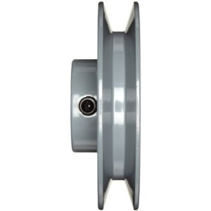 "CAAST IRON V-BELT PULLEY 2.85OD 5/8"" BORE"