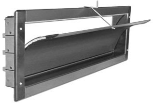 DIRECT AIR INSULATED EUROPEAN CURVED STYLE SIDEWALL INLET<br>