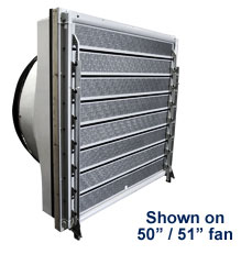 TOPJET INSULATED SHUTTER {8-BLADE} IS8<br>