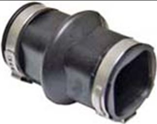 EXPANSION CONNECTOR FRO DINKERS SMALL PIPE WITH CRIMP RINGS