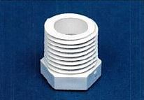 "PVC FOGGER  BUSHING 1/2"" MT X 1/4"" FT"