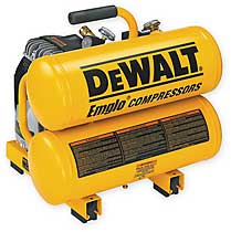 COMPRESSOR DEWALT 4 GALLON 1.1HP