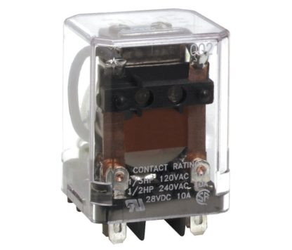DPDT 8-PIN PLUG IN RELAY 10A @ 277VAC/30DC 240VAC COIL<br>