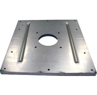 MOTOR MOUNT PLATE FOR HIRED HAND XL SPACE HEATER