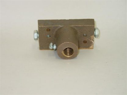 HIRED HAND BRASS LOAD BLOCK FOR POWER CURTAIN MACHINE<br>