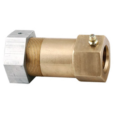 NEW STYLE BRASS DRIVE BLOCK WITH ALUMINUM NUT