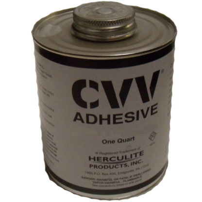 CVV ADHESIVE FOR CURTAIN REPAIR QUART