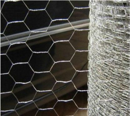 "STAINLESS HEX WIRE 1"" X 84"" 20GA  200FT ROLL"