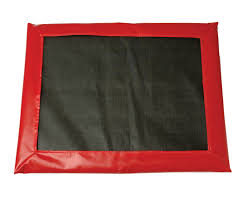 """RED DISINFECTANT MAT 24"""" X 28"""""""
