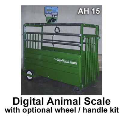 "DIGITAL ANIMAL SCALE 20"" X 49"" INSIDE"