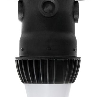 PRO-SERIES LED UTILITY LUMINAIRE INCLUDES 5,000K 15 WATT LED LUMINAIRE, ALUMINUM HEAT SINK AND JUNCTION BOX CASE OF 12