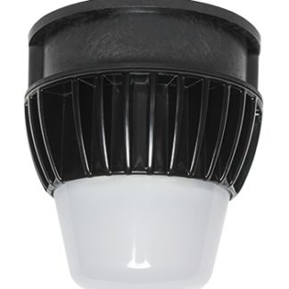 PRO-SERIES LED UTILITY LUMINAIRE INCLUDES 5,000K  15 WATT LUMINAIRE, ALUMINUM HEAT SINK AND JUNCTION BOX ADAPTER<br>
