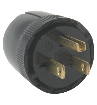 MALE PLUG CONNECTOR 220V 15A<br>