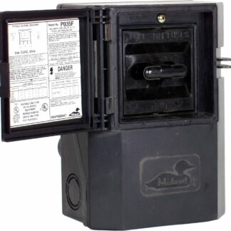 MIDWEST NON-METALLIC  30AMP 1PH 240V NON METTALIC DISCONNECT