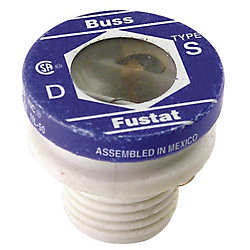 10 AMP SERIES S SCREW IN FUSE TIME DELAY