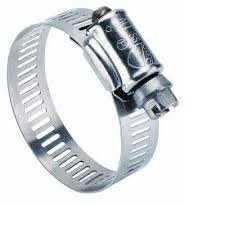 "HOSE CLAMP STAINLESS WITH CARBON SCREW 11/16"" X 1-1/4"""
