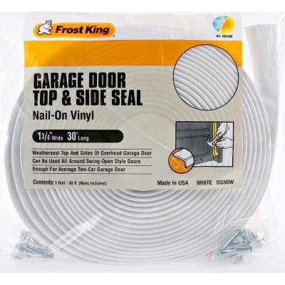 "1-3/4"" X 30 FT. VINYL GARAGE DOOR TOP AND SIDE SEAL"