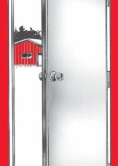 "PLYCO #66 40"" X 63"" ALUMINUM POULTRY SIDEWALL DOOR<br>"