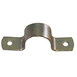 "1/2"" GALVANIZED 2-HOLE PIPE STRAP"