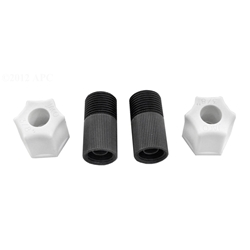 "3/8"" CONNECTING NUT W/ ADAPTOR 2-PACK<br>"