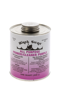 PVC PRIMER CLEANER PURPLE 1/2 PINT