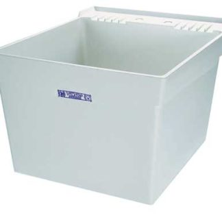 "LAUNDRY TUB WITH WALL MOUNT  24"" X 20"" X 14-3/8"""