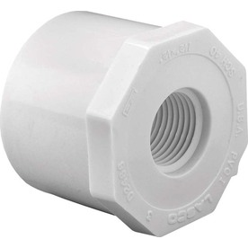 "PVC BUSHING 1/2"" SLIP X 1/8"" FT SCHEDULE 40"